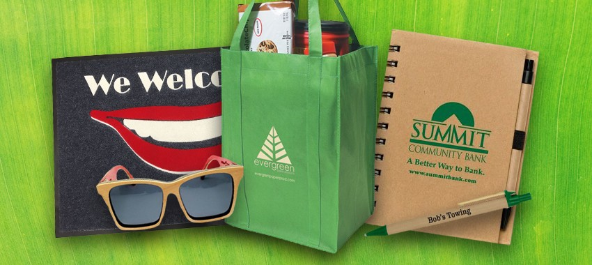 5 Environmentally-Friendly Promotional Products