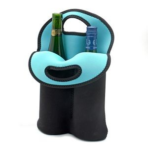 iBank(R) 2-Bottle Neoprene Wine Tote