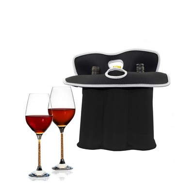 iBank(R) 3-Bottle Neoprene Wine Tote